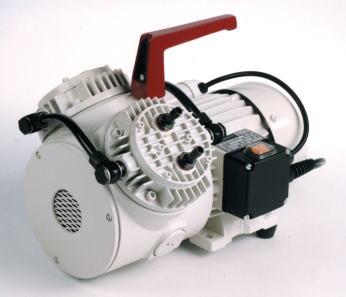 Мембранный насос-компрессор KNF N 145.1.2 AN.18 (55 л/мин, 100 мбар, 7 бар)