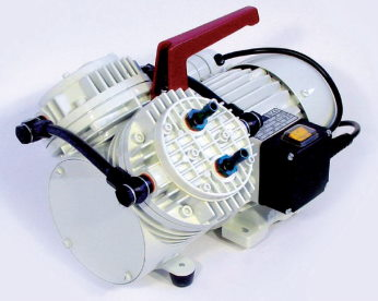 Мембранный насос-компрессор N 035.1.2 AN.18 (55 л/мин, 100 мбар, 4 бар) KNF
