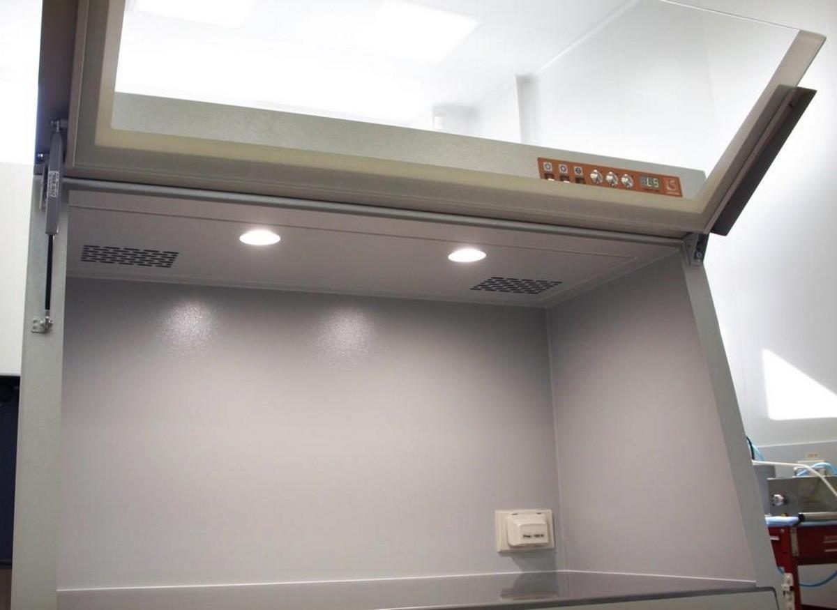 Бокс для ПЦР диагностики БАВ Ламинар-С с открытым стеклом